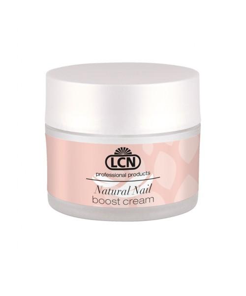 Живильний крем для полірування і запечатування нігтів з протеїнами і кератином Natural Nail Boost Cream