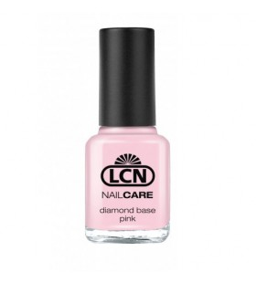 Спеціальний лак з діамантовою крихтою для зміцнення нігтів (рожевий) Diamond Base