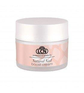 Питательный крем для полировки и запечатывания ногтей с протеинами и кератином Natural Nail Boost Cream