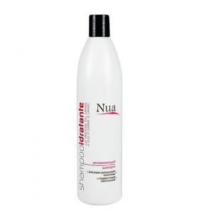 Увлажняющий шампунь с маслом зародышей пшеницы и пшеничным протеином Nua