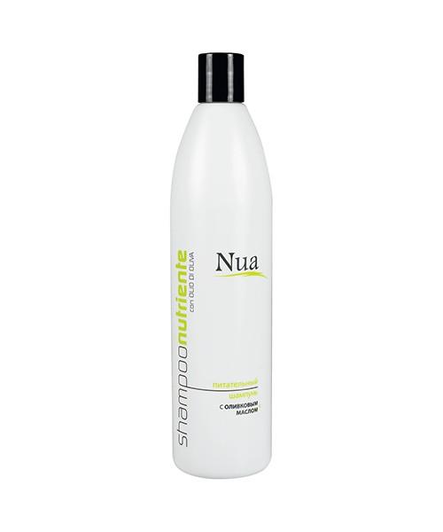Живильний шампунь з оливковою олією Nua