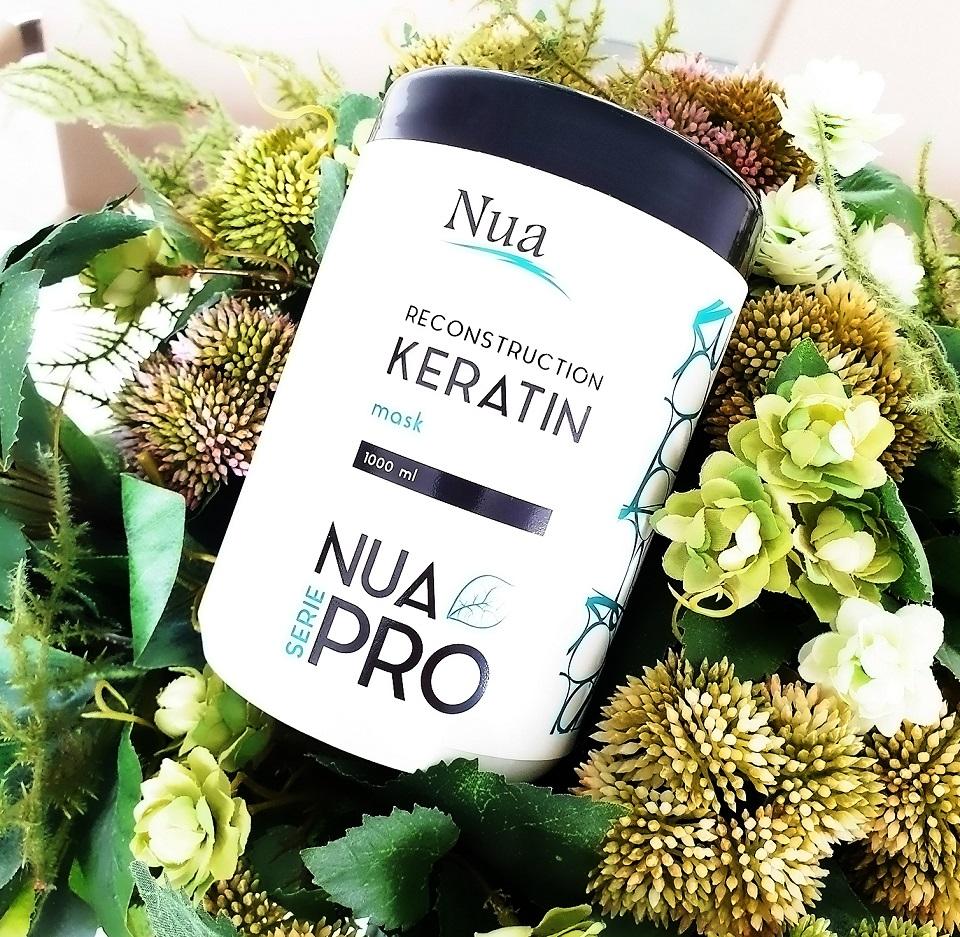 маска Reconstruction with Keratin от NUA PRO для глубокой реконструкции волос